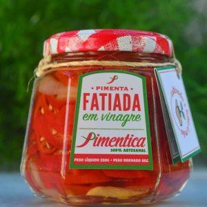Pimentica pimenta artesanal conserva em oleo e vinagre