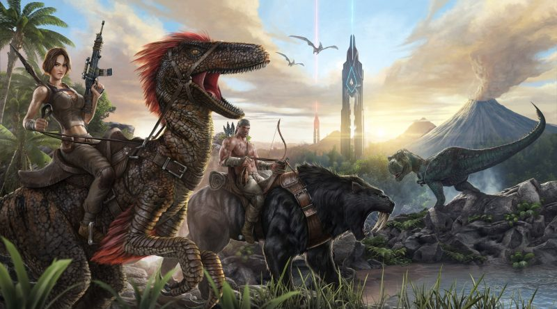 ARK Survival Evolved gratis na epic games ate 18-06-2020