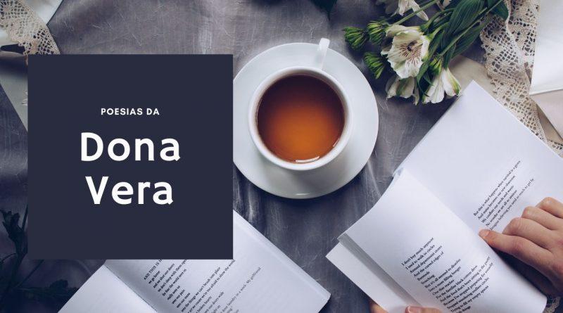 Poesias da Dona Vera - Lúcia Vera Braga Gusmão