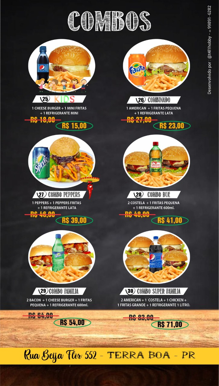 Cardapio Peppers Burger Hamburguer Artesanal Delivery