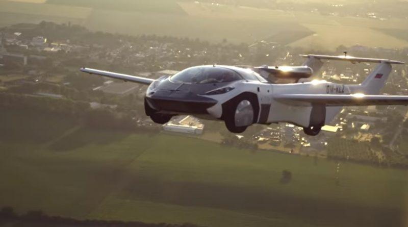 Carro voador faz voo teste de 35 minutos